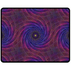 Pattern Seamless Repeat Spiral Fleece Blanket (medium)
