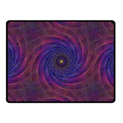 Pattern Seamless Repeat Spiral Fleece Blanket (small)