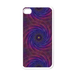 Pattern Seamless Repeat Spiral Apple Iphone 4 Case (white)