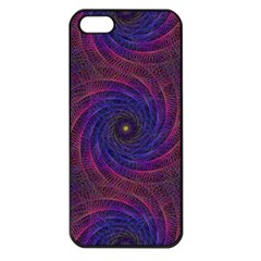 Pattern Seamless Repeat Spiral Apple Iphone 5 Seamless Case (black)