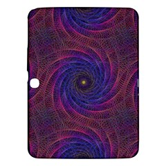 Pattern Seamless Repeat Spiral Samsung Galaxy Tab 3 (10 1 ) P5200 Hardshell Case