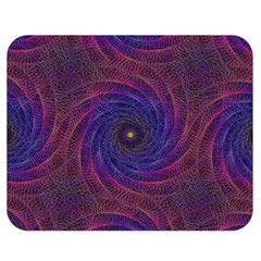 Pattern Seamless Repeat Spiral Double Sided Flano Blanket (medium)