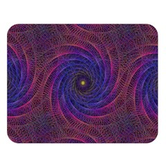 Pattern Seamless Repeat Spiral Double Sided Flano Blanket (large)