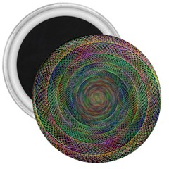 Spiral Spin Background Artwork 3  Magnets