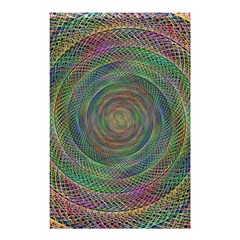 Spiral Spin Background Artwork Shower Curtain 48  X 72  (small)