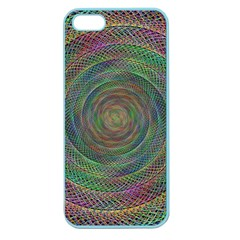 Spiral Spin Background Artwork Apple Seamless Iphone 5 Case (color)