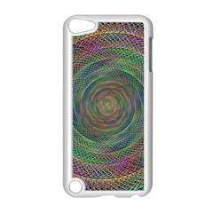 Spiral Spin Background Artwork Apple Ipod Touch 5 Case (white)