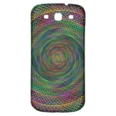 Spiral Spin Background Artwork Samsung Galaxy S3 S Iii Classic Hardshell Back Case