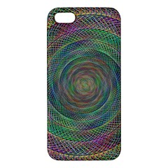 Spiral Spin Background Artwork Apple Iphone 5 Premium Hardshell Case