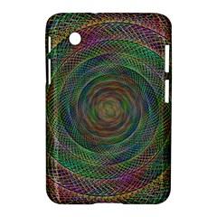 Spiral Spin Background Artwork Samsung Galaxy Tab 2 (7 ) P3100 Hardshell Case