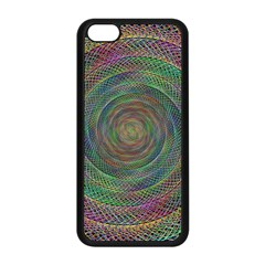 Spiral Spin Background Artwork Apple Iphone 5c Seamless Case (black)