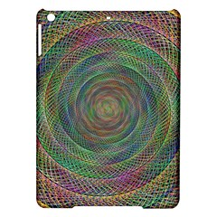 Spiral Spin Background Artwork Ipad Air Hardshell Cases