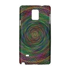 Spiral Spin Background Artwork Samsung Galaxy Note 4 Hardshell Case