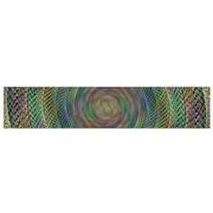 Spiral Spin Background Artwork Flano Scarf (small)