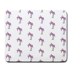 Sweet Flamingo Pattern Large Mousepads