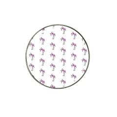 Sweet Flamingo Pattern Hat Clip Ball Marker (10 Pack)