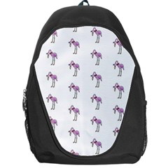 Sweet Flamingo Pattern Backpack Bag