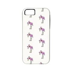 Sweet Flamingo Pattern Apple Iphone 5 Classic Hardshell Case (pc+silicone)