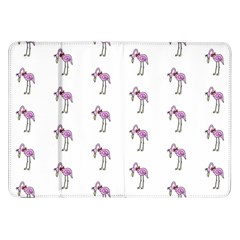 Sweet Flamingo Pattern Samsung Galaxy Tab 8 9  P7300 Flip Case