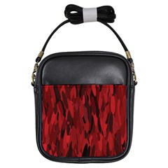 Abstract 2 Girls Sling Bags