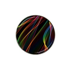 Rainbow Ribbons Hat Clip Ball Marker (4 Pack)