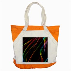 Rainbow Ribbons Accent Tote Bag