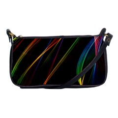 Rainbow Ribbons Shoulder Clutch Bags
