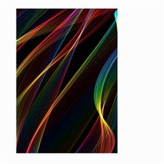 Rainbow Ribbons Large Garden Flag (two Sides)