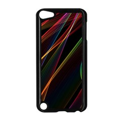 Rainbow Ribbons Apple Ipod Touch 5 Case (black)