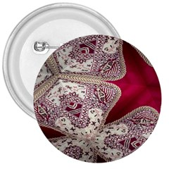 Morocco Motif Pattern Travel 3  Buttons