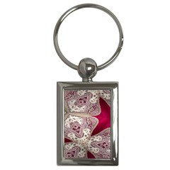 Morocco Motif Pattern Travel Key Chains (rectangle)
