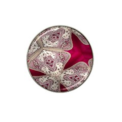 Morocco Motif Pattern Travel Hat Clip Ball Marker (10 Pack)