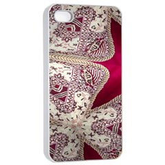 Morocco Motif Pattern Travel Apple Iphone 4/4s Seamless Case (white)