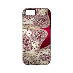 Morocco Motif Pattern Travel Apple Iphone 5 Classic Hardshell Case (pc+silicone)