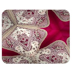 Morocco Motif Pattern Travel Double Sided Flano Blanket (medium)