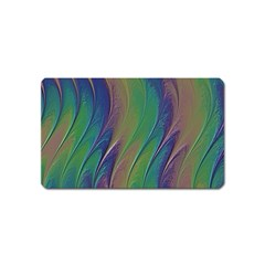 Texture Abstract Background Magnet (name Card)