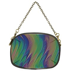 Texture Abstract Background Chain Purses (one Side)