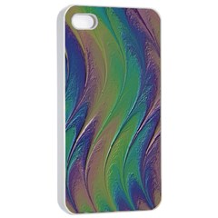 Texture Abstract Background Apple Iphone 4/4s Seamless Case (white)