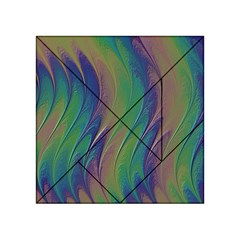 Texture Abstract Background Acrylic Tangram Puzzle (4  X 4 )