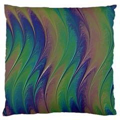 Texture Abstract Background Large Cushion Case (one Side)