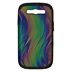 Texture Abstract Background Samsung Galaxy S Iii Hardshell Case (pc+silicone)