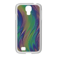 Texture Abstract Background Samsung Galaxy S4 I9500/ I9505 Case (white)