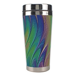 Texture Abstract Background Stainless Steel Travel Tumblers