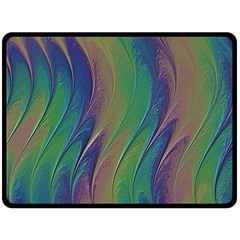 Texture Abstract Background Double Sided Fleece Blanket (large)