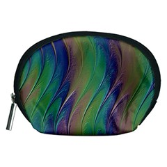 Texture Abstract Background Accessory Pouches (medium)