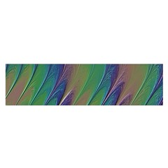Texture Abstract Background Satin Scarf (oblong)