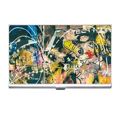 Art Graffiti Abstract Vintage Business Card Holders