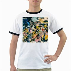 Art Graffiti Abstract Vintage Ringer T Shirts
