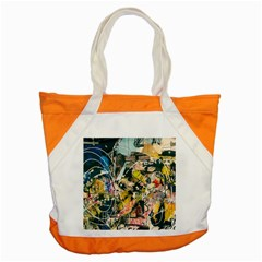 Art Graffiti Abstract Vintage Accent Tote Bag
