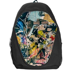 Art Graffiti Abstract Vintage Backpack Bag